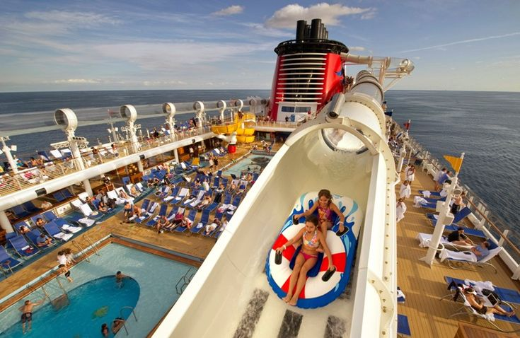 This isn't exactly a place, but rather, a ship! It's called the Disney Dream. Best cruise ship for kids and family? I'd say so.