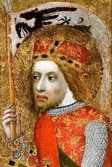 Svatý Václav (asi 907 – 28. září 935, příp. 929[1], německy Wenzel von Böhmen) byl český kníže a světec, který je považován za patrona Čech a Moravy[2] a symbol české státnosti. Votivni obraz Ocko - Vaclav.jpg