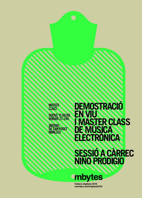 Poster master class   marindsgn by MARIN DSGN, via Flickr