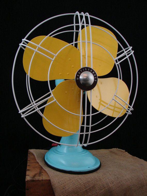 Vintage Westinghouse Electric fan...cool.
