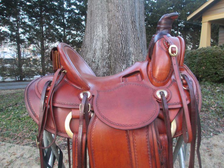 Sawtooth Saddle Co. Roping Saddle Ranch Saddle