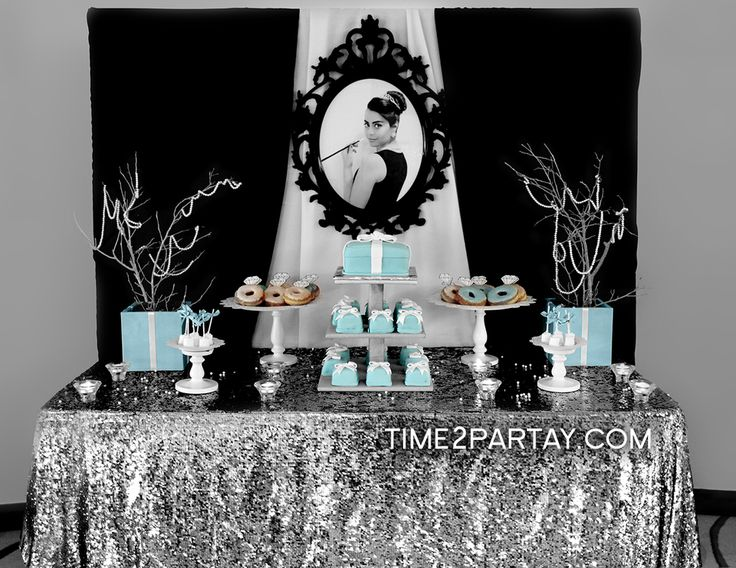 Tiffany's themed bridal shower, absolutely adorable and all of your guests will love it!