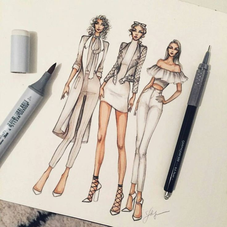 High Quality Find This Pin And More On Fashion Illustrations By Fashionfood988.