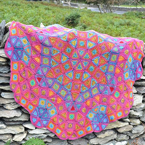 Blanket from Rainbow Crocheted Afghans book by Amanda Perkins