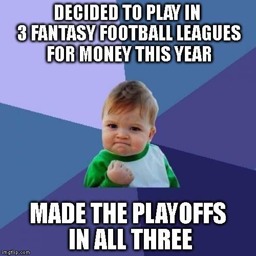 Fantasy Football Playoff Time!