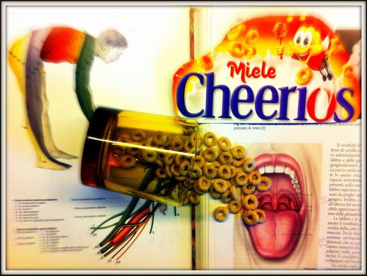 SI ALLA CREATIVITÀ CON CHEERIOS: immagine Tra un libro universitario e l'altro.. C'è bisogno per forza di una pausa Cheerios! di lukass18