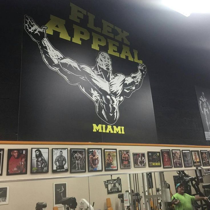 I've done a lot of artwork in the bodybuilding and fitness game. The list is deep but just a few names off the top of my head...Mr. Olympia Ronnie Coleman, Gaspari Nutrition, Ifbb Pro Guy Cisternino, Ifbb Pro David Henry, and potential future Mr. Olympia Juan Morel to hardcore training facilities like Flex Appeal in Miami. It's always nice to see my efforts being put to good use. The gym looks great @ifbb_pro_tony_torres! #IfbbPro #FlexAppealMiami #TonyTorres #JuanMorel #GuyCisternino…
