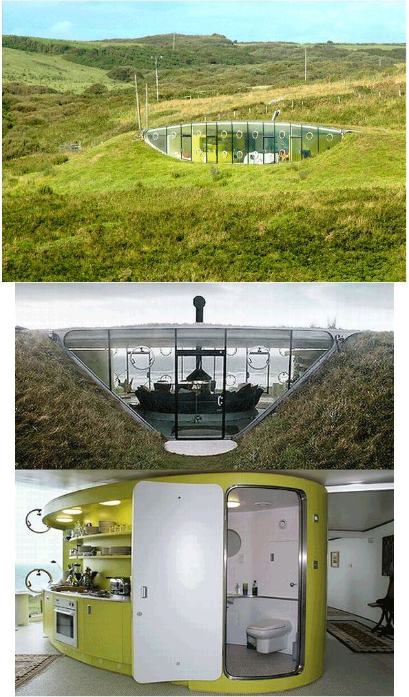 Amazing Underground Homes