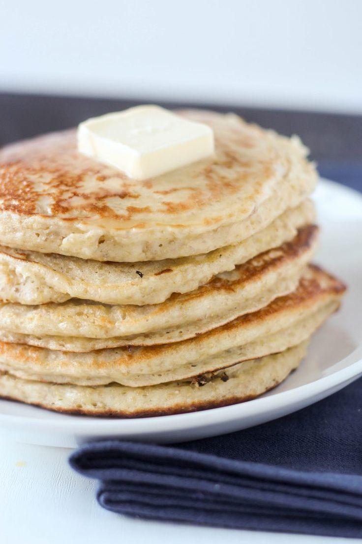 Buttermilk Quinoa Pancakes