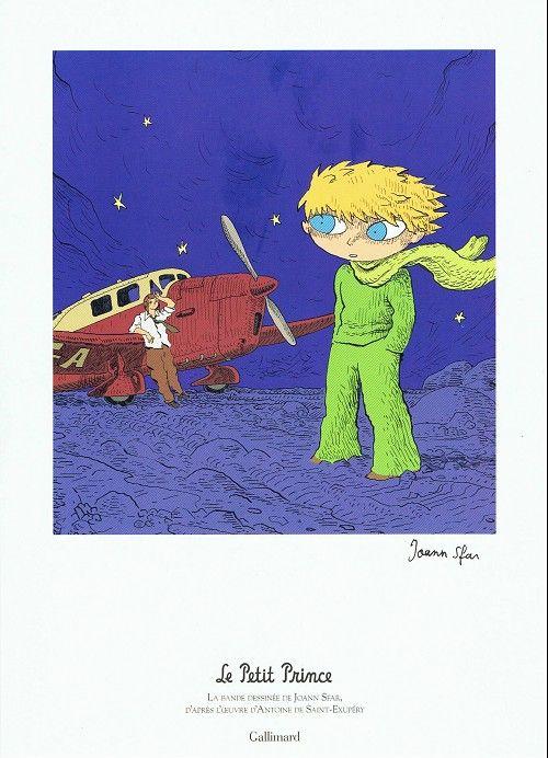 Ex libris Le petit Prince (Joann Sfar) Gallimard 2008