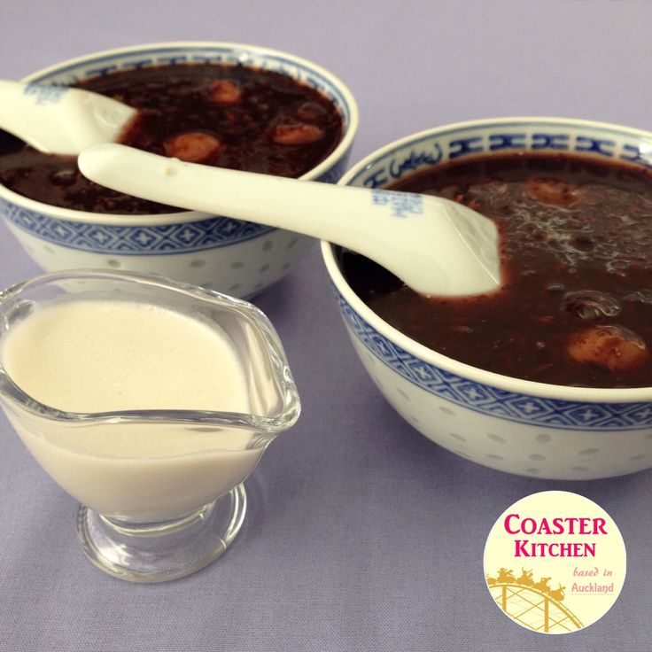 "Weekend is here, and I am craving for some Chinese dessert. So I decided to make the black glutinous rice sweet dessert soup. It is more commonly known as ""bubur pulut hitam"" in Malay l…"