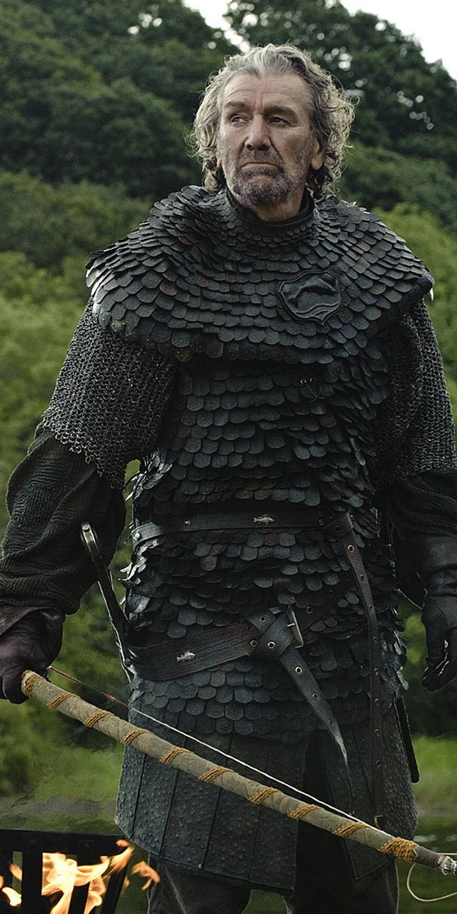 """Brynden """"The Blackfish"""" Tully .The Game of Thrones"""