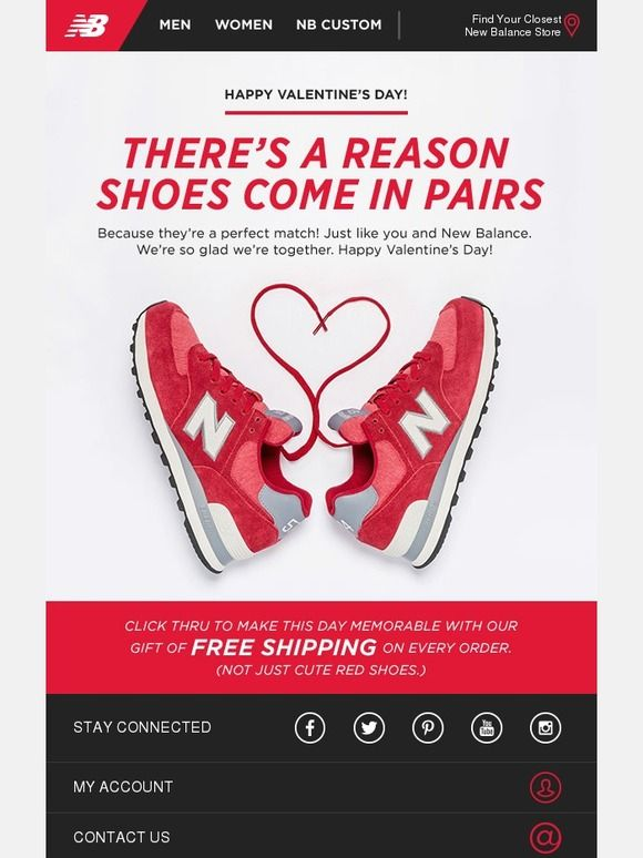 We love that you love us - New Balance