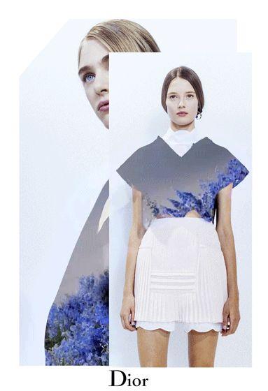 dior: El Dior Primavera-Verano 2016 Colección Ready-to-Wear.  Más sobre Diormag.com.
