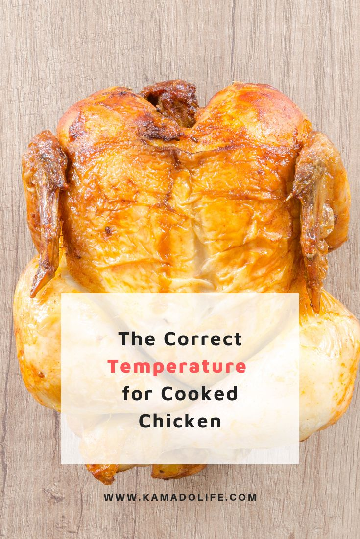 what temperature do you need to cook chicken to