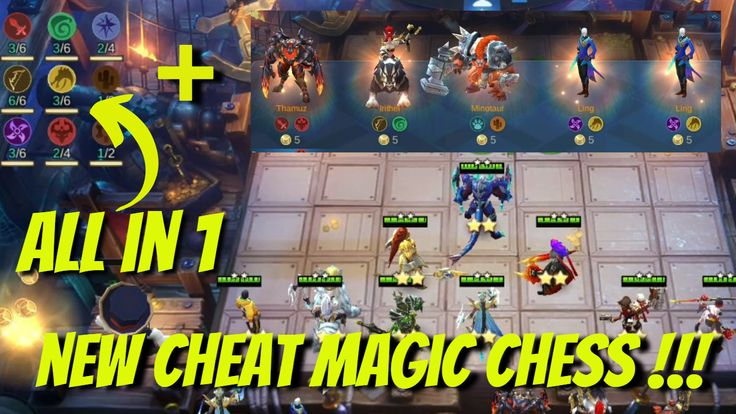 Cheat Magic Chess Mobile Legend Terbaru Di 2020 Game Video Teman