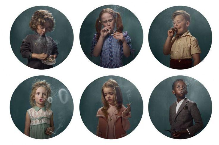 Niños Fumadores de Frieke Janssens