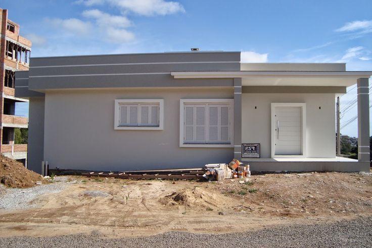 Pintura externa de casas cinza pesquisa google pintura for Casas modernas pintadas