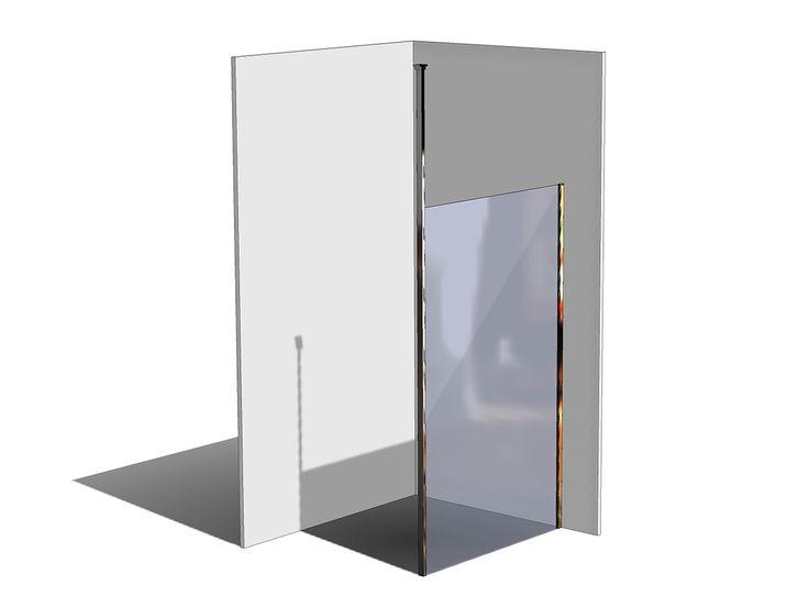 Kado Lux Shower Screen Panel Ceiling 1200