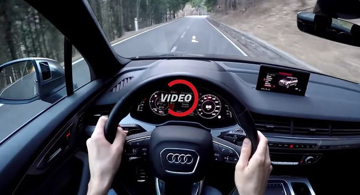Experience The Audi SQ7's V8 Diesel On A Twisty Road