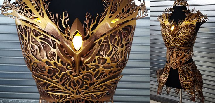 228 hours later, the Dreamer Regalia Armor for actress Felicia Day is finished! (Part 2 of 3)
