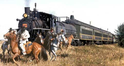 Alberta Prairie Railway - Alberta Steam Train Tourist Attraction