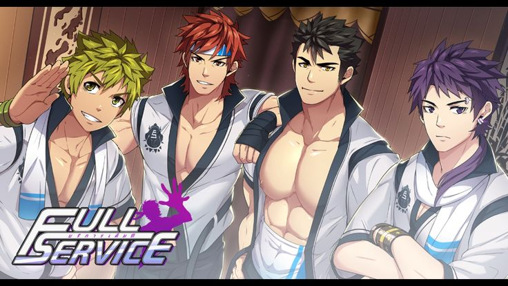 A visual novel and dating sim game that features gay romance packed with beautiful CGs, music, voice acting and massage theme!