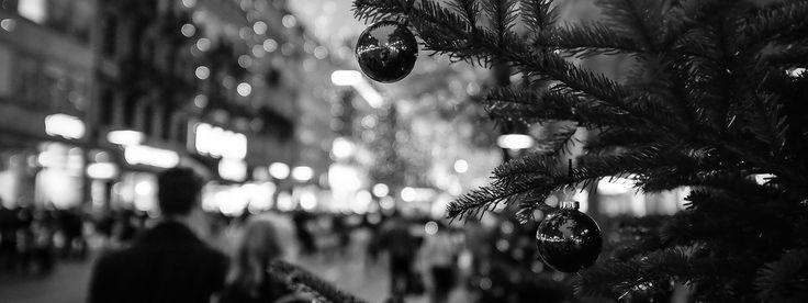 Zürich Bahnhofstrasse, Christmas Shoppers | von akarakoc