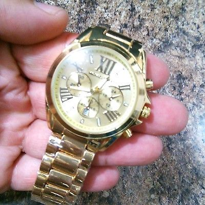 Reloj hombre michael kors color oro buy it now $78.99