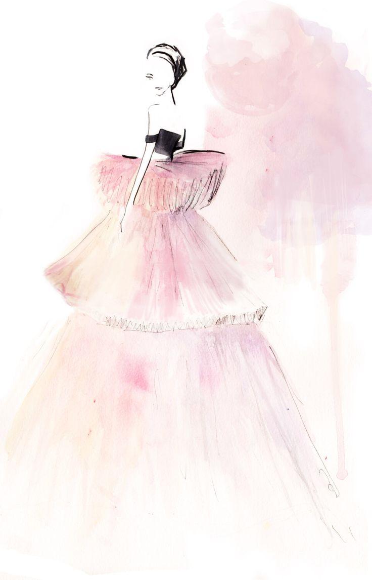 Giambattista Valli Spring Couture 2016 02 Fine Art Print by StephanieAnneIllu on Etsy https://www.etsy.com/ca/listing/279577914/giambattista-valli-spring-couture-2016
