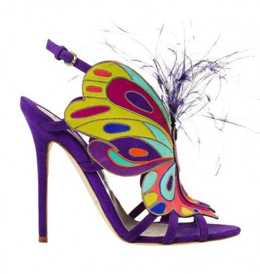 Collezione scarpe Brian Atwood Primavera Estate 2014 - Sandali farfalla Brian Atwood