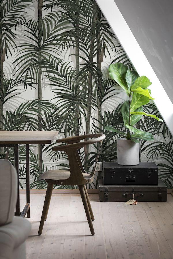 Bamboo Photowall #behang #interieur