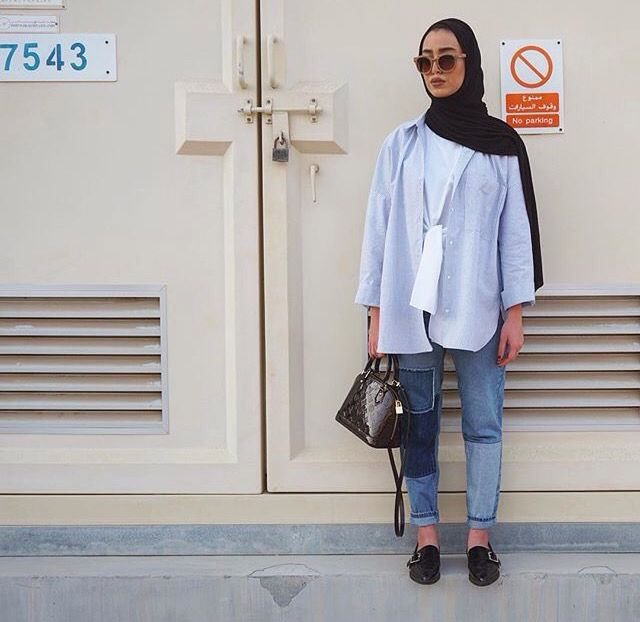 Leenalghouti #hijabfashion