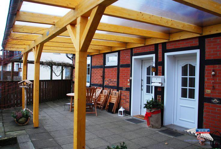 1000 Ideen zu Terrassendach Holz auf Pinterest