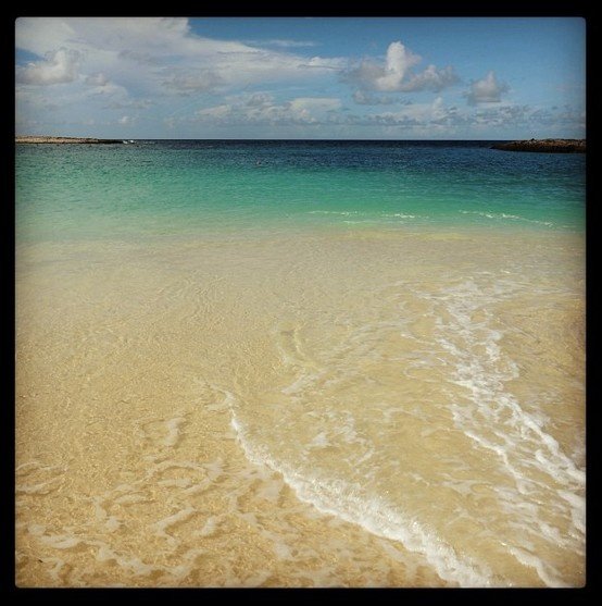 Lovers beach nassau