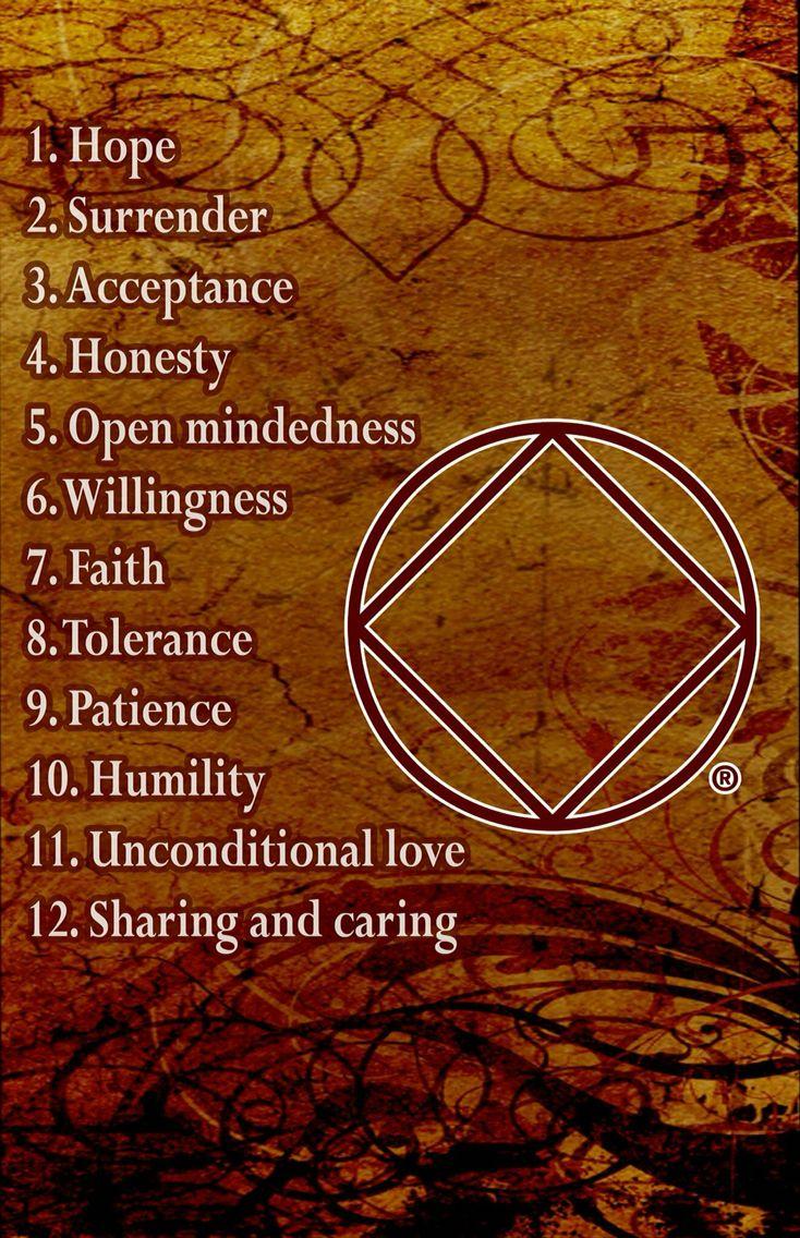 Narcotics Anonymous spiritual principles