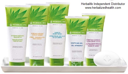 Herbalife Herbal Aloe Bath & Body Care. Improves Hair & Skin after just one use.