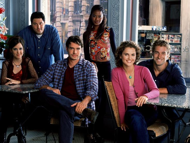Image detail for -Felicity (TV show) Amanda Foreman, Greg Grunberg, Scott Foley, Tangi ...