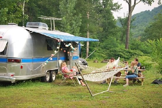 What's better than your own Airstream by the CreekQuirky Hotels, Kate Lazy, Meadow Motel, Motel Mount, Mount Tremper, Lazy Meadow, Airstream Hotels, Retro Airstream, Airstream Trailers