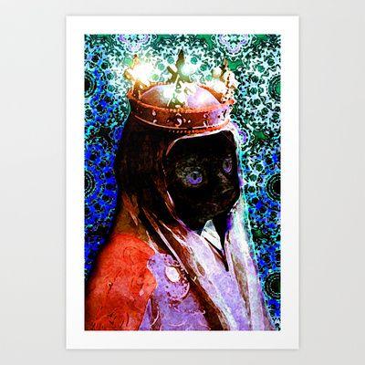 Eleanor of Catquitaine Art Print by Bonnie J. Breedlove - $13.99