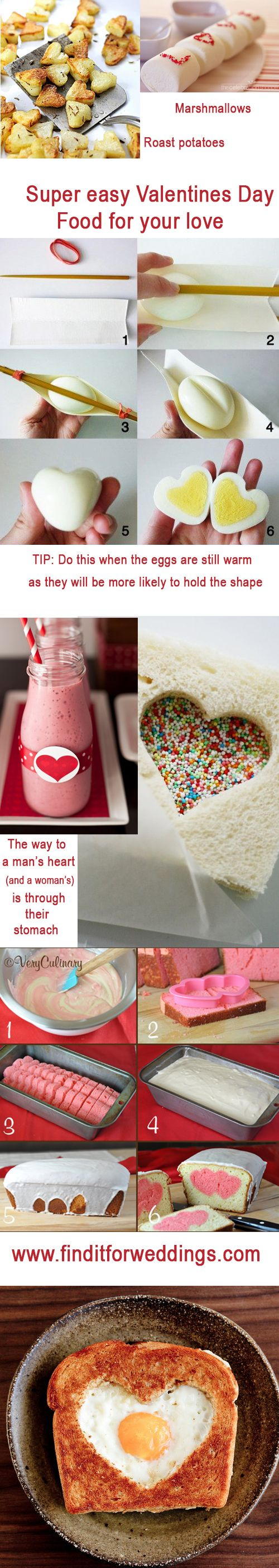 Love the heart eggs!