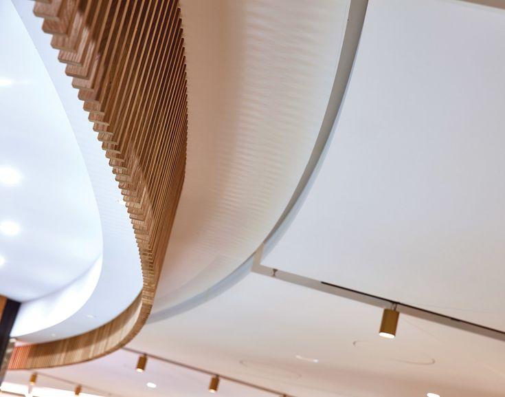 Ceiling detail - Australia Square Dining, Sydney, by MTRDC. Photography by Steve Brown Photography.