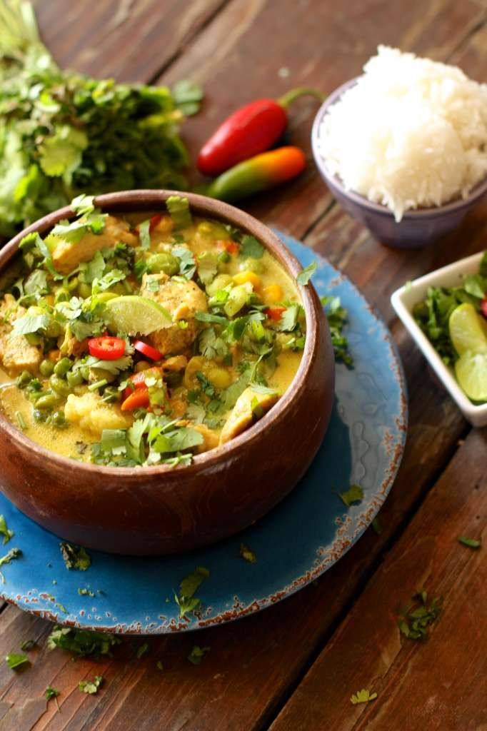 30 Minute Yellow Chicken Curry