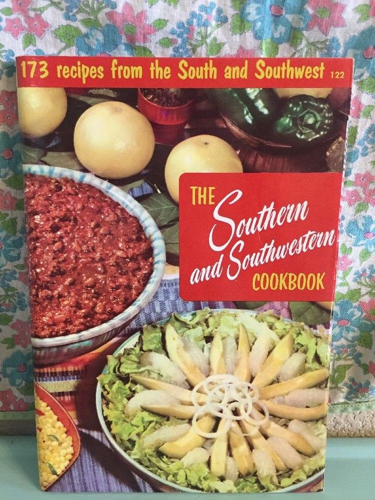 Vintage The Southern and Southwestern Cookbook 1956 Culinary Arts Institute  | eBay
