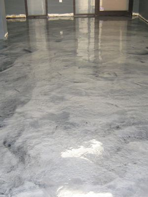 Lovely Metallic Silver Concrete Floor At Boulder, Colorado Tech Consulting  Company. Metallic Pigments In Polyaspartic. Paint Concrete FloorsAcid  Stained ...