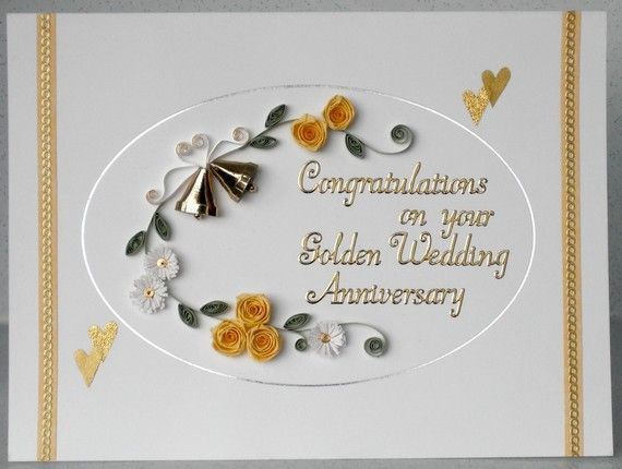 Best quilled anniversary card images quilling