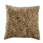 18 in. Leopard Print Square Pillow