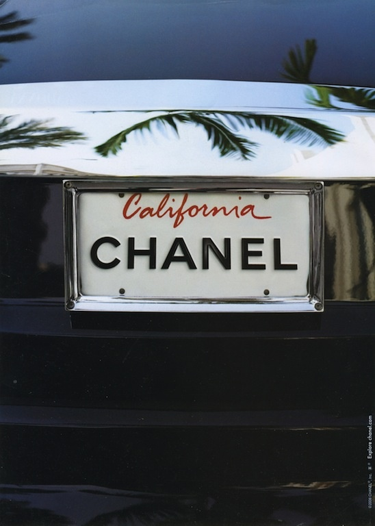 California Chanel car