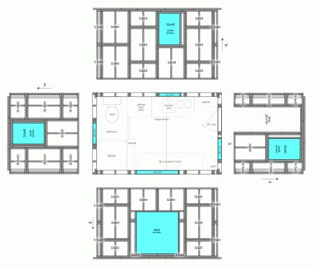 Exceptional Pallet Building Plans | Pallet House | Tiny Free House | Page 9