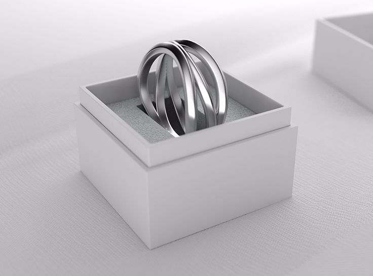 Wave ring - a 3D model by VECTARY | VECTARY